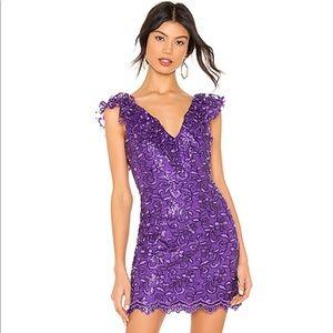 NDB purple cocktail dress!